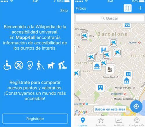 App con toda la información sobre la Accesibilidad de las ciudades