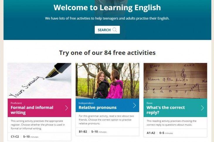 84 actividades online gratuitas para mejorar nuestro inglés