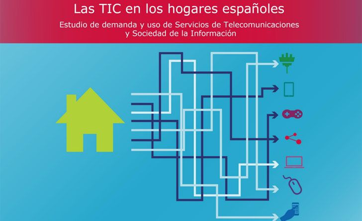 Las TIC en los hogares españoles. Estudio de demanda y uso de Servicios de Telecomunicaciones y Sociedad de la Información