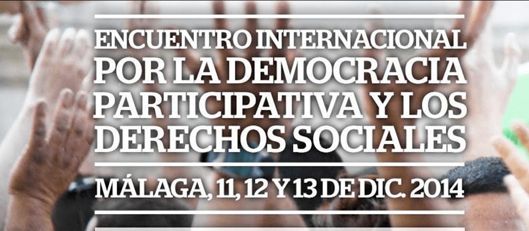 Encuentro Internacional por la Democracia Participativa y los Derechos Sociales