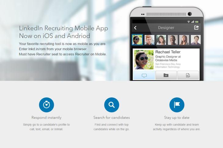 LinkedIn actualiza Recruiter para facilitar la búsqueda de candidatos