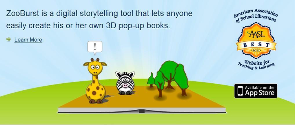 Zooburst – Herramienta On-Line para crear Libros Digitales 3D