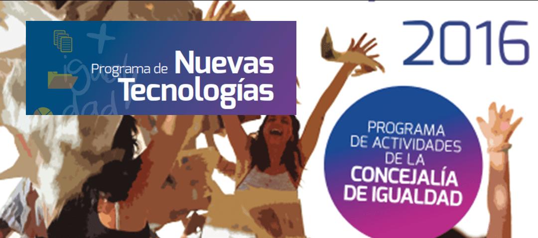 Programa de Nuevas Tecnologías para mujeres de Fuenlabrada
