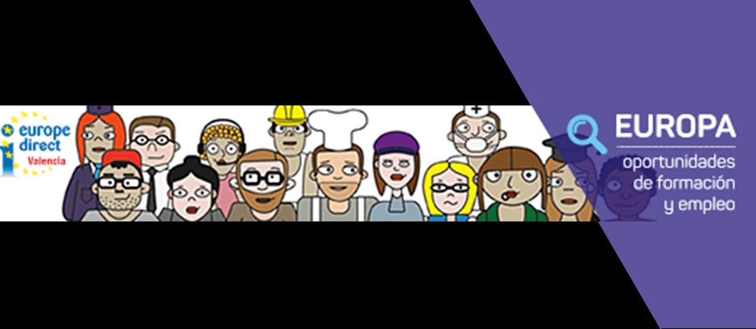 EUROPA: Oportunidades de formación y empleo