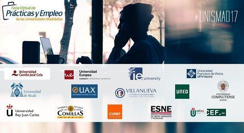 UNISMAD 2017. Feria Virtual de prácticas y Empleo de las Universidades Madrileñas